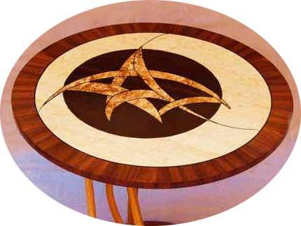 Jewish Star Table by Abraham Tesser.